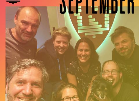 groepsfoto nerdland podcast september 2021