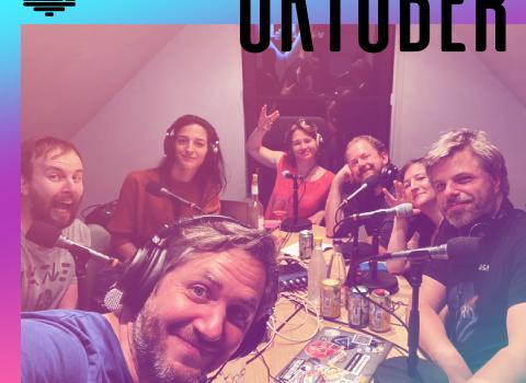 oktober 2021 podcast logo